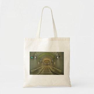 Shopping bag Hamburg of old Elbe tunnels