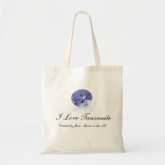 Shopping bag I Love Tanzanite Reusable Test