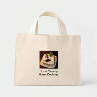 """Shopping Bag - """"I Love Yummy Home Cooking""""  Cake"""
