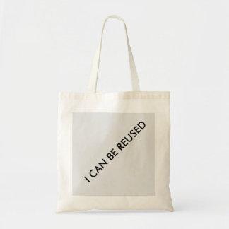 Shopping bag, reusable budget tote bag