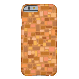 Shopping bags pattern, autumn colors barely there iPhone 6 case