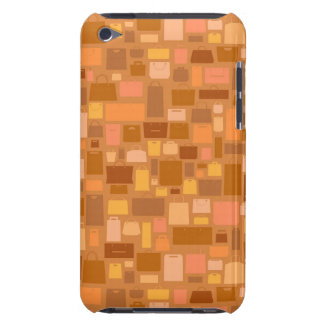 Shopping bags pattern, autumn colors iPod touch Case-Mate case