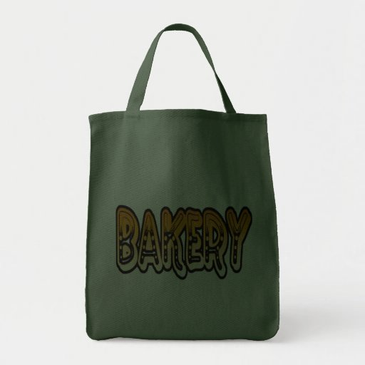 shopping: bakery canvas bags