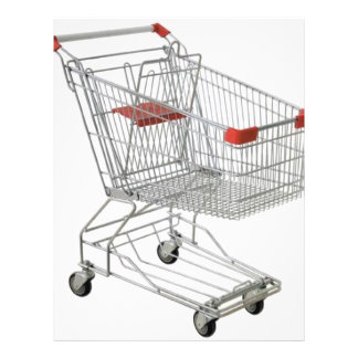 shopping-cart 21.5 cm x 28 cm flyer