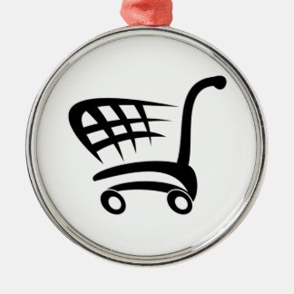Shopping Cart Christmas Ornament