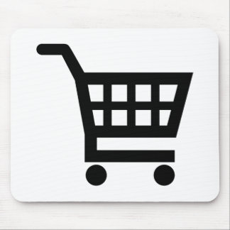 Shopping cart mouse pad