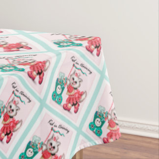 "SHOPPING CAT 2 Tablecloth COLOR LIPS 60""x84"""