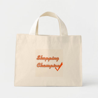 Shopping champion tote bags