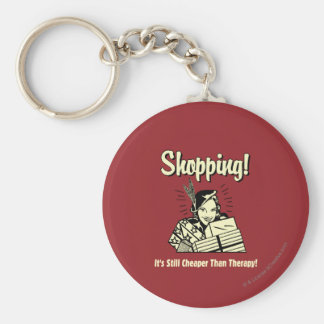 Shopping: Cheaper Than Therapy Key Ring