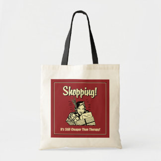 Shopping: Cheaper Than Therapy Tote Bag