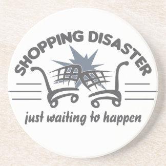 Shopping Disaster coaster