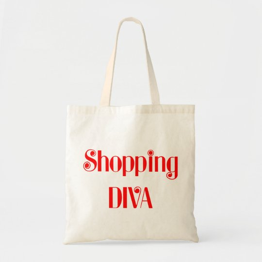 Shopping Diva Tote Bag
