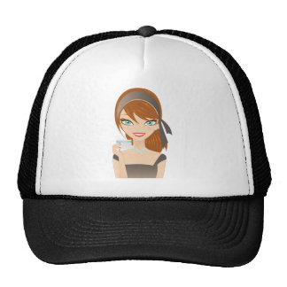 Shopping Girl Trucker Hats