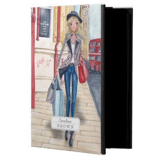 Shopping Girl in London City | iPad Air 2 Case