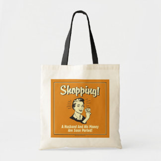 Shopping: Husband and His Money Tote Bag