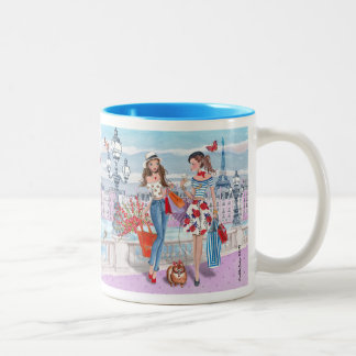 Shopping in Paris | Mug