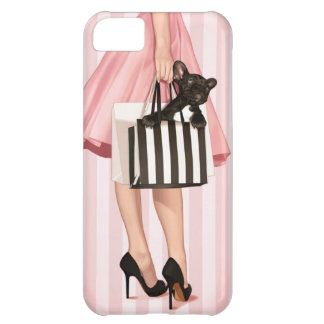 Shopping in the 50 s cover for iPhone 5C