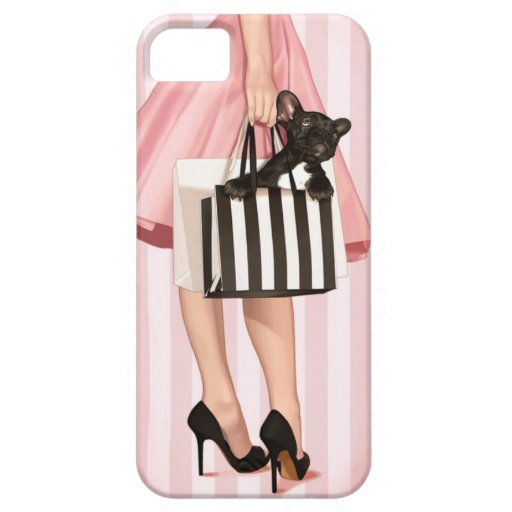 Shopping in the 50's iPhone 5 case