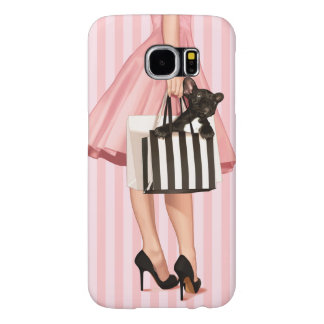 Shopping in the 50's samsung galaxy s6 cases
