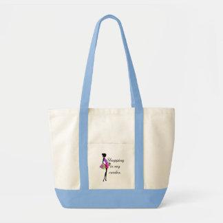Shopping is My Cardio Fun and Humor Impulse Tote Bag