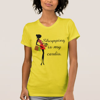 Shopping is My Cardio Fun and Humor T-shirt