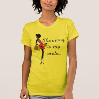 Shopping is My Cardio Fun and Humor Tee Shirt