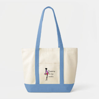 Shopping is My Cardio Fun and Humor Tote Bag