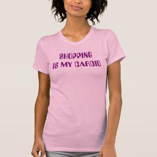 """Shopping is my Cardio"" t-shirt"