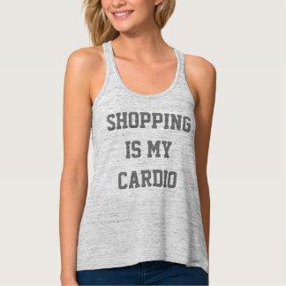 Shopping is my Cardio Tank Top