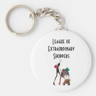 Shopping League Keychain