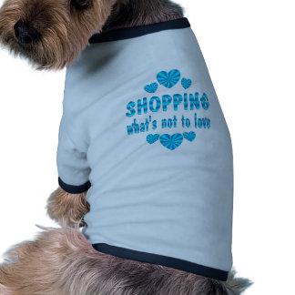 SHOPPING LOVE RINGER DOG SHIRT