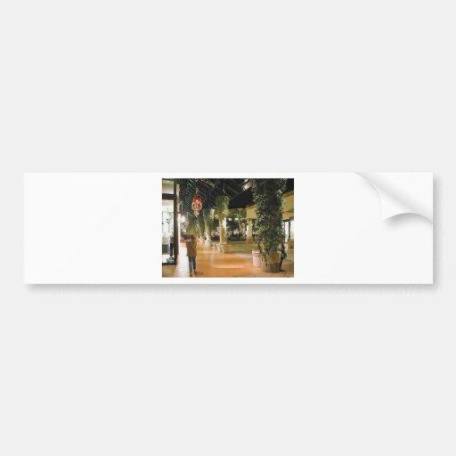 Shopping Malls Bumper Stickers