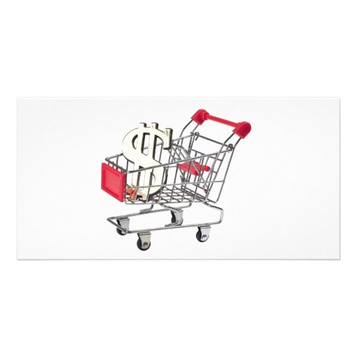 Shopping Custom Photo Card