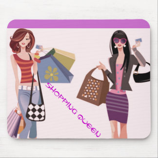 SHOPPING QUEEN COLLECTION MOUSE MAT