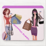 SHOPPING QUEEN COLLECTION MOUSE PAD