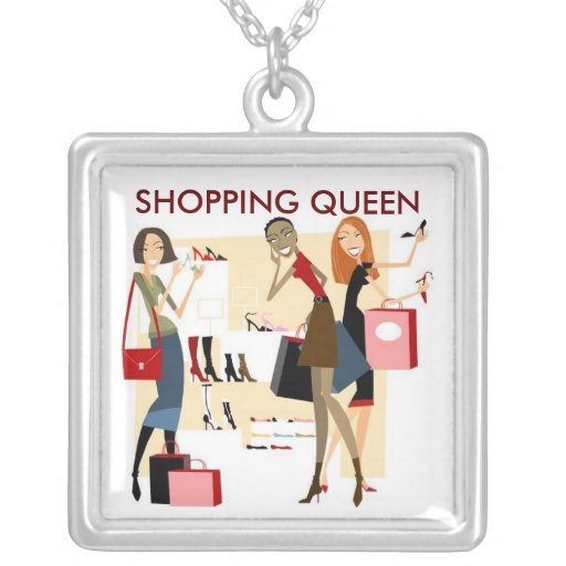 SHOPPING QUEEN COLLECTION PERSONALIZED NECKLACE