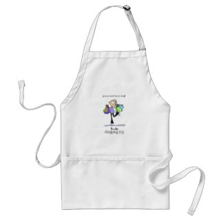 Shopping Sale Lady Aprons