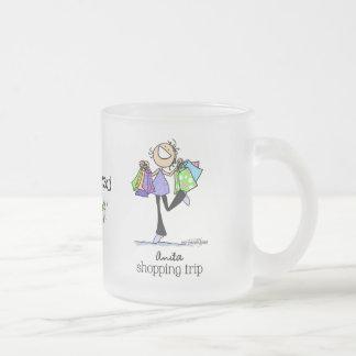 Shopping Sale Lady Coffee Mug