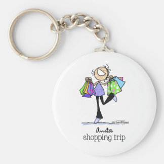 Shopping Sale Lady Key Chains