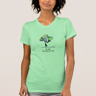 Shopping Sale Lady T-shirt
