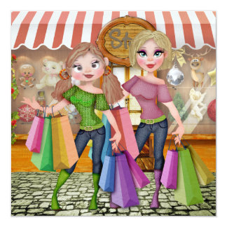 """Shopping :Save the Date""""  - SRF Card"""