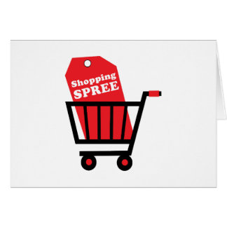 Shopping Spree Card