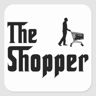 Shopping Square Stickers