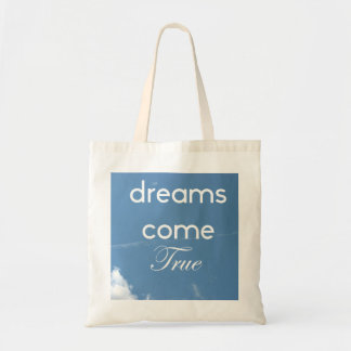 shopping tote for your dream come true items