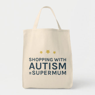 Shopping With Autism Supermum Tote