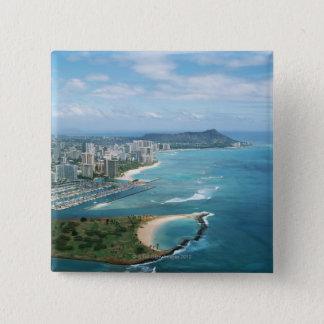 Shore 3 15 cm square badge