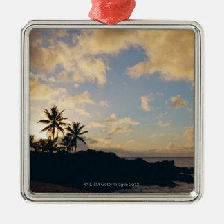 Shore 5 Silver-Colored square decoration