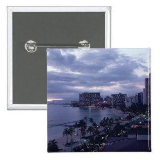 Shore 7 15 cm square badge