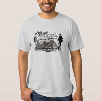Shore Fast Line Trolleys 1910 Vintage Shirts