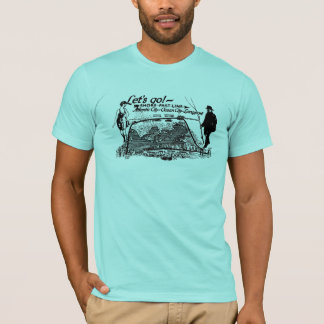 Shore Fast Line Trolleys 1910 Vintage T-Shirt